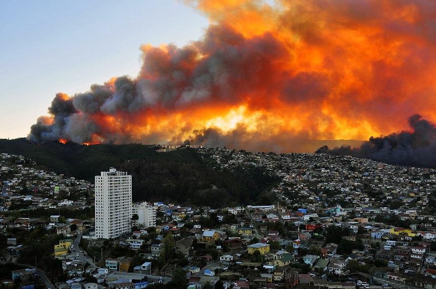 CHILE-FIRE