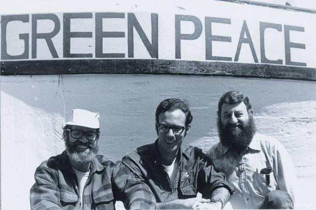 Greenpeace ÈfoundersÇ
